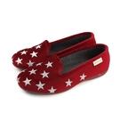 Grünland  懶人鞋 休閒鞋 星星 深紅 女鞋 PA1101-BORDO no034