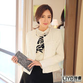 LIYO理優韓風小香風針織外套538010