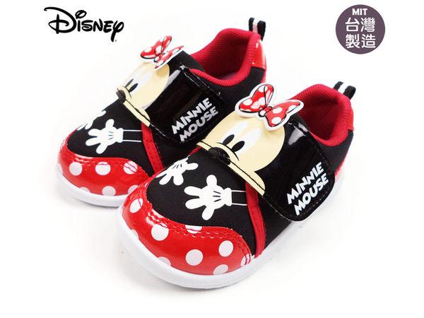 EMMA商城~童鞋 正版Disney迪士尼米妮小手造型運動鞋.休閒鞋 紅14-19