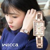 【全台限量500只】New Wicca 時尚氣質女性腕錶 18mm/Wicca/BE1-020-21 現 排單!
