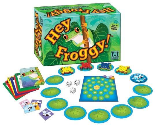 [楷樂國際] 喂,小蛙!Hey Froggy! #R&R Games 桌遊