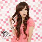 【MokoShop假髮專賣店】甜美造型長捲髮全頂假髮【LY22282】