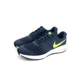 大童 NIKE Star Runner  鞋帶 透氣 輕量 運動慢跑鞋 《7+1童鞋》E884 藍色