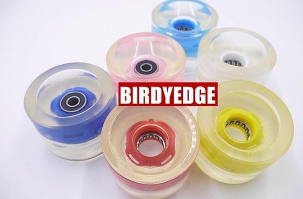 BIRDYEDGE電動滑板 專用 公路輪子 PU高彈力 電動滑板輪子 輪胎 加大
