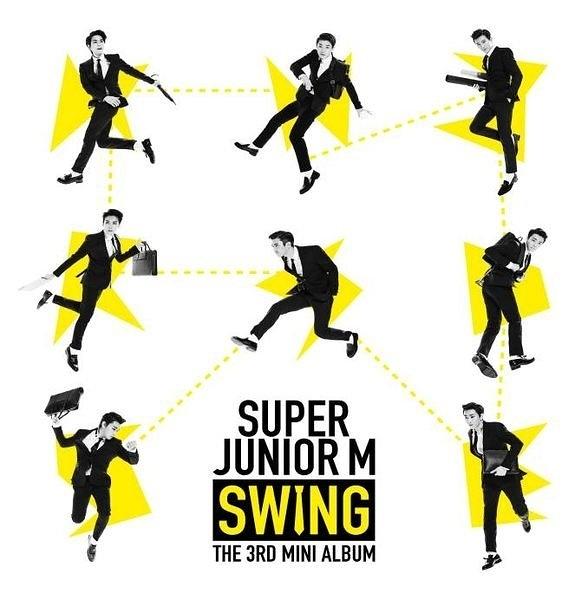 SUPER JUNIOR-M   第三張迷你專輯 SWING 台壓版 CD (購潮8)