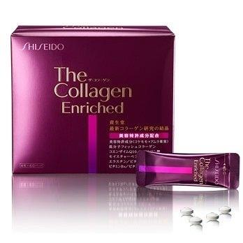 豪華版資生堂 the collagen enriched 膠原蛋白錠