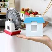 【2入特惠組】日本製造HACHIMAN創意小屋收納架藍色x2