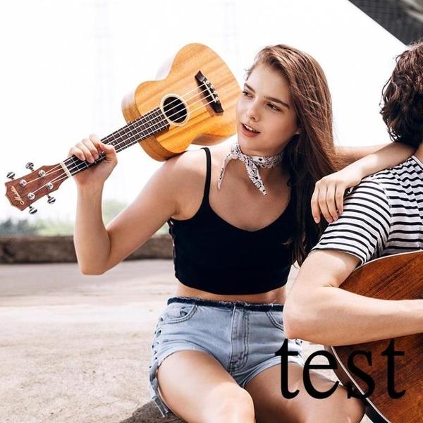 烏克麗麗尤克里里初學者學生成人女男兒童21寸23寸26寸烏克麗麗入門小吉他XW 快速出貨