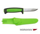 丹大戶外用品【MORAKNIV】瑞典 13466 Basic 511 高碳鋼直刀 黑/綠