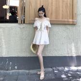夏季2018新款韓版小心機連衣裙