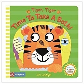 【幼兒操作書】TIGER TIGER TIME TO TAKE A BATH ? /操作書《主題: 生活自理》