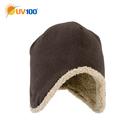 UV100 防曬 抗UV 保暖防寒-絨毛雙面戴飛行護耳帽-童