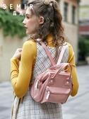 手提包包包女小斜背新款日系少女百搭手提包多功能ins超火迷你包 嬡孕哺