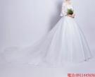 (45 Design)  7天到貨 新客製化顏色大尺碼訂做服18 婚紗禮服伴娘晚會主持人中長版蕾洋裝