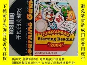 二手書博民逛書店開始閱讀遊戲罕見Starting Reading 1張光盤Y24