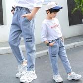 男童牛仔褲 男童牛仔褲春秋款兒童休閒褲2020童裝長褲