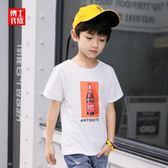童裝男童短袖T恤夏2018新款韓版兒童印花 HH2176【潘小丫女鞋】