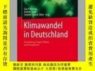 二手書博民逛書店Klimawandel罕見in DeutschlandY405706 Guy P Brasseur ISBN