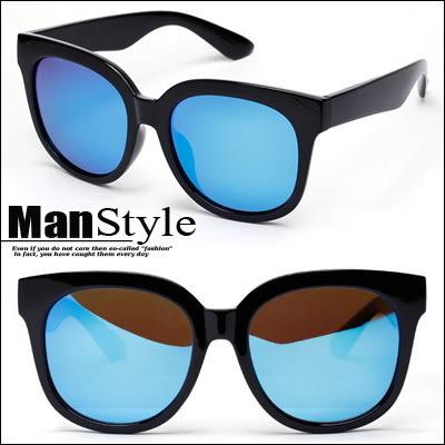 任選3件799ManStyle潮流嚴選韓版素款大框偏光中性太陽眼鏡墨鏡【09J0007】