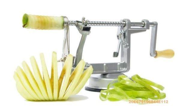 高品質蘋果削皮機 (削皮/去核/切片 三合一)