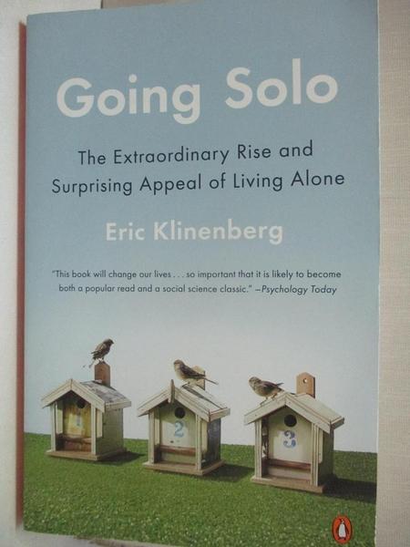 【書寶二手書T1/大學社科_CEF】Going Solo: The Extraordinary Rise and…