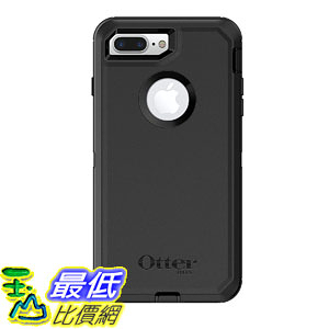 [107美國直購] 保護殼 OtterBox 77-61661 DEFENDER SERIES Case iPhone 8 Plus 7 Plus (ONLY) Retail Packaging BL