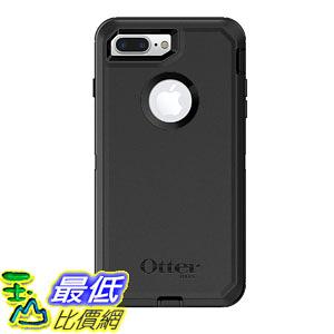 [107美國直購] 保護殼 OtterBox 77-61661 DEFENDER SERIES Case iPhone 8 Plus 7 Plus (ONLY) Retail Packaging BLACK