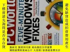 二手書博民逛書店PC罕見WORLD Magazine 2008年1月 英文個人電腦雜誌 可用樣板間道具雜誌Y114412