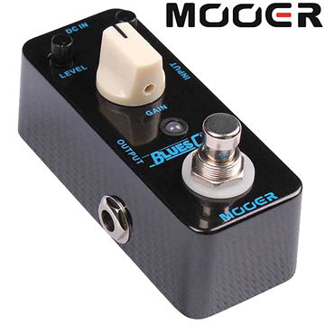 ★集樂城樂器★Mooer Blues Crab 藍調失真效果器 Blues Crab(BD2)【Blues Overdrive Pedal】MREG-BC
