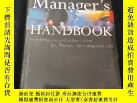 二手書博民逛書店Manager s罕見HANDBOOKY21619