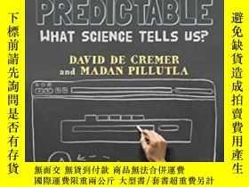 二手書博民逛書店Making罕見Negotiations Predictable: What Science Tells Us