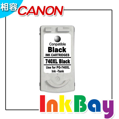 CANON PG-740XL(黑) 高容量相容墨水匣【適用】MX377/MX437/MX517/MX397/MX477/MG4170/MG3170/MG2170/MG3570