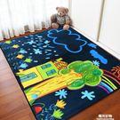 爬行墊地墊卡通兒童房大地毯茶幾臥室客廳可愛滿鋪床邊毯寶寶爬行長方形 陽光好物