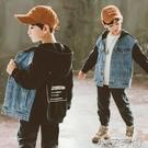 男童牛仔外套2020春秋新款中大童裝兒童上衣秋季韓版洋氣百搭時尚 小艾新品