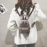 後背包 雙肩包女新款潮韓版迷你書包小背包 萬客居