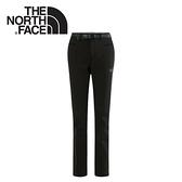 【The North Face 女款 彈性保暖長褲 黑】NF0A2UE9/彈性保暖長褲/保暖長褲/休閒長褲