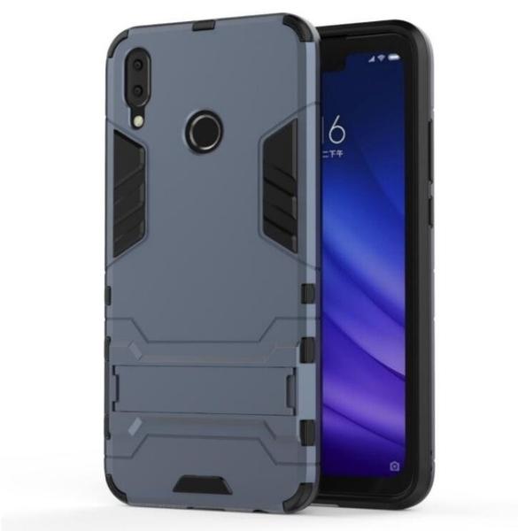 華為 HUAWEI Y9 2019 手機殼 防摔 華為Y9 保護套 全包 支架 矽膠套 內軟殼 手機套 鋼鐵人