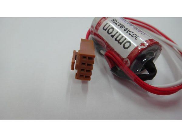 全館免運費【電池天地】鋰電池 OMRON 儀器用電池 3G2A9-BAT08  C500-BAT08 一次鋰電3.6V(含線頭)