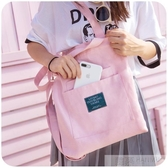 韓版帆布包包女大學生上課背的單肩包斜挎布袋ins原宿ulzzang中包 韓慕精品