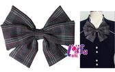得來福※K189超大朵硬挺高校制服銀行領結領結領花,售價350元