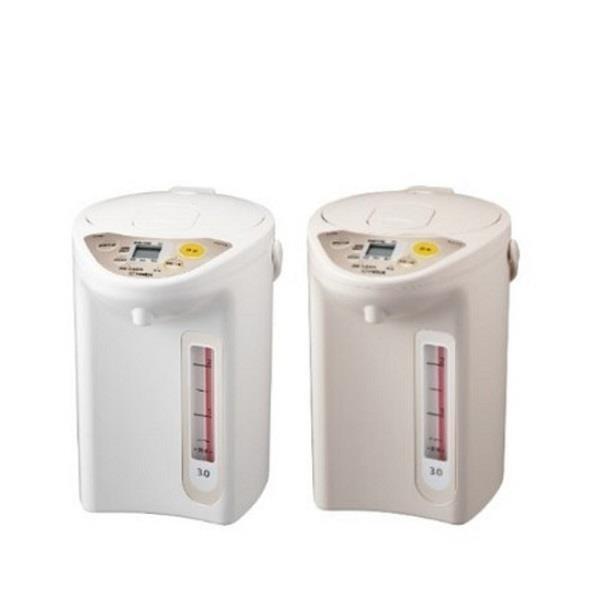 【南紡購物中心】虎牌【PDR-S30R-CX】3公升熱水瓶 卡其色