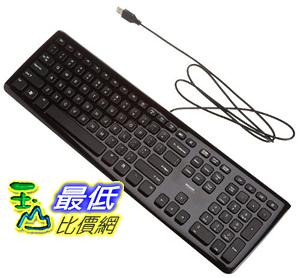 [106美國直購] AmazonBasics 健盤 Wired Keyboard