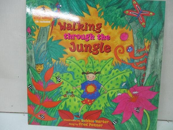 【書寶二手書T6/原文小說_DUH】Walking Through the Jungle_Harter, Debbie (ILT)/ Penner, Fred (CON)