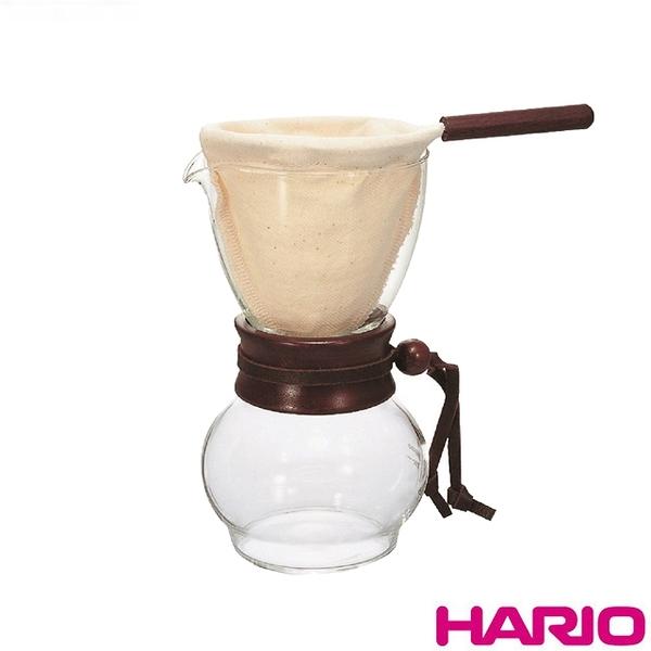 《HARIO》濾布手沖咖啡壺1~2杯 DPW-1