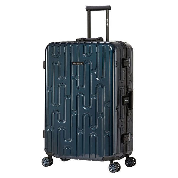 【CENTURION百夫長】鋁框款26吋A_H_gva日內瓦藍行李箱