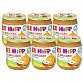 HiPP 喜寶 生機南瓜蘋果泥125g(6罐)[衛立兒生活館]