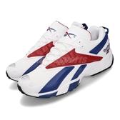 Reebok 慢跑鞋 INTV 96 白 藍 紅 男女鞋 運動鞋 老爹鞋 【PUMP306】 FV5520