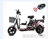 時尚版 沃普頓鋰電池子母電動自行車親子車三人電動車48V迷你成人電瓶車igo  圖拉斯3C百貨