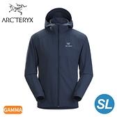 【ARC TERYX 始祖鳥 男 Gamma SL軟殼外套《幸運藍》】28210/連帽外套/輕薄防風