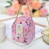 喜糖盒子 新款創意婚禮糖果包裝盒結婚喜糖盒子禮盒裝婚慶用品手提喜糖袋 10色